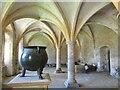 ST9168 : Lacock Abbey - Cauldron by Colin Smith