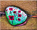 SD7807 : Poppies on a Pebble by David Dixon