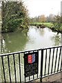TF0206 : On the George Bridge in Stamford by Richard Humphrey