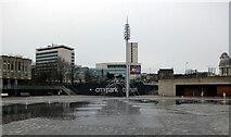 SE1632 : City Park, Bradford by habiloid