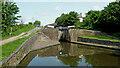 SO8691 : Botterham Locks north of Swindon, Staffordshire by Roger  Kidd