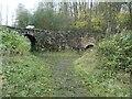 SK3523 : Tramway bridge and restored lime kiln, Ticknall by Christine Johnstone