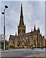 SJ8298 : The Roman Catholic Cathedral Church of St John the Evangelist by David Dixon