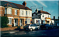 SU8749 : Houses and takeaway shops, Ash Road, Aldershot by Humphrey Bolton