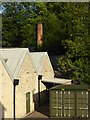 SO8404 : Fromehall Mills - chimney by Chris Allen