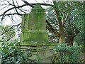 SE2039 : Old sundial in Micklefield Park - detail by Stephen Craven