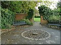 SE2039 : Rest area, Micklefield Park by Stephen Craven
