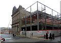 SE1633 : Redevelopment in Bradford city centre seen from Market Street by habiloid