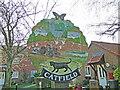 TG3821 : Catfield village sign by Adrian S Pye