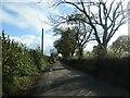 SJ9635 : The road to Stone Heath, heading south-east by Christine Johnstone