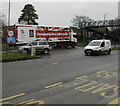 ST3091 : Aldi articulated lorry, Malpas, Newport by Jaggery