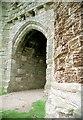 NU2521 : The Gateway, Dunstanburgh Castle by Martin Tester