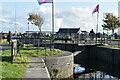 M2924 : Eglinton Canal Sea Lock by N Chadwick