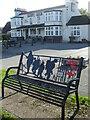 ST5782 : A poppy seat by The Fox by Neil Owen