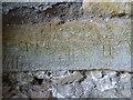 SO8125 : Historic graffiti  by Philip Halling