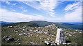 NX5182 : Rocks at summit of Meikle Millyea by Trevor Littlewood