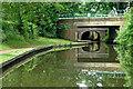 SO8684 : Stewponey Bridges near Stourton in Staffordshire by Roger  Kidd