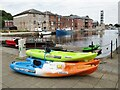 SX9291 : Exeter - Canoe Kayak Hire by Colin Smith