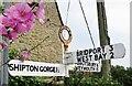 SY4889 : Burton Bradstock - Road Signs by Colin Smith