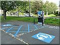 SE2337 : Horsforth Hall Park: car charging points by Stephen Craven
