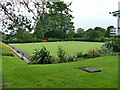 SE2337 : Bowling green, Horsforth Hall Park by Stephen Craven