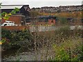 SK3890 : River Don flood defences by Graham Hogg