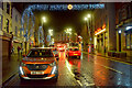 H4572 : Christmas lights, Omagh 2020 by Kenneth  Allen