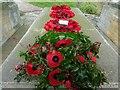SO9537 : Poppy wreaths by Philip Halling
