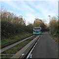 TL4454 : Bus B bound for Hinchingbrooke by John Sutton
