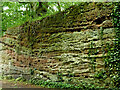SO8379 : Sandstone near Cookley in Worcestershire by Roger  Kidd