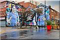 SJ8498 : Win as One - Football Mural by David Dixon