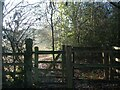 SP3176 : Gate, Canley Ford wild flower meadow by E Gammie