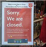 TF0920 : Sorry, we are closed by Bob Harvey