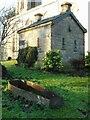NS6172 : Watch-house and mort-safe, Cadder Parish Church by Richard Sutcliffe