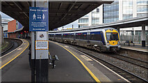 J3473 : Train, Belfast Lanyon Place Station by Rossographer
