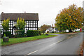 SO7161 : Half-timbered buildings in Clifton upon Teme by Bill Boaden