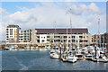 SH4763 : Caernarfon Marina by Wayland Smith