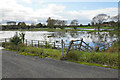 SP7006 : Flooded fields by the River Thame by Bill Boaden