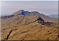 NG8203 : Ladhar Bheinn from the south east by Nigel Brown