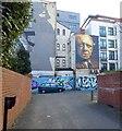 SJ8498 : Portrait Of Anthony Burgess by Gerald England