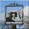 TG1106 : Wramplingham village sign by Adrian S Pye
