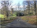 NZ0162 : Driveway to Styford Hall by Oliver Dixon