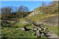 SD8963 : Pennine Way below Malham Cove by Chris Heaton
