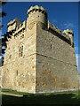 NZ0878 : Belsay Castle tower by Gordon Hatton