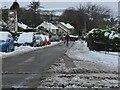 NT2539 : Snow in Glen Road, Peebles by Jim Barton