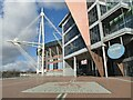 ST1775 : Cardiff - Stadium Plaza by Colin Smith