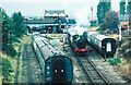 SK5419 : 6990 departs Loughborough Central Station, Great Central Railway by Martin Tester