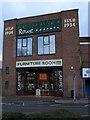 SO8375 : Lowland Works carpet warehouse, Green Street, Kidderminster by Chris Allen