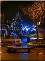 SD7806 : Radcliffe Piazza at Christmas by David Dixon
