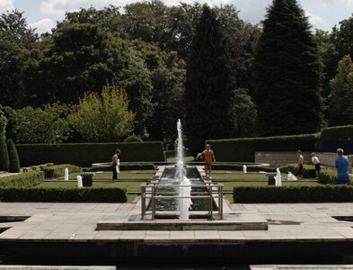 SE1535 : Mughal Garden, Lister Park, Bradford by habiloid